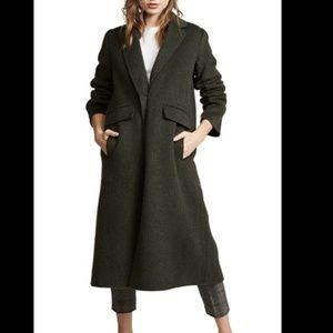 Vince. Black Long Coat Small NEW $695